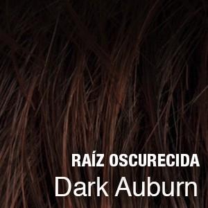 dark auburn raíz oscura