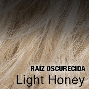 light honey raíz oscura