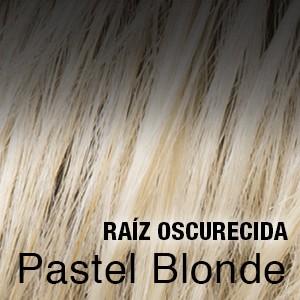 pastel blonde raíz oscura