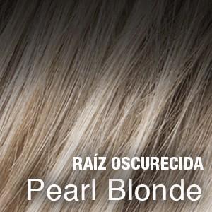 pearl blonde raíz oscura