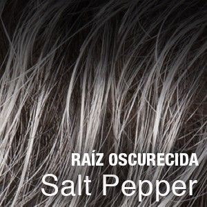salt pepper raíz oscura