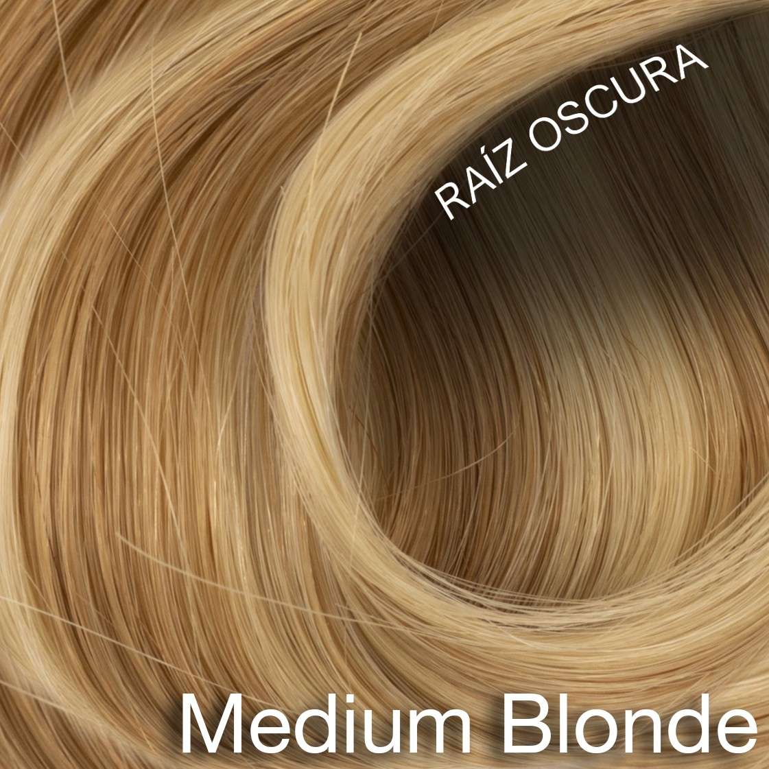 Medium Blond ROOTED