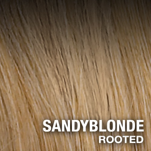SANDY BLONDE Rooted