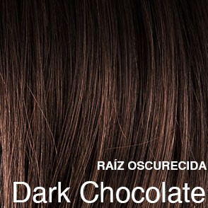 dark chocolate rooted