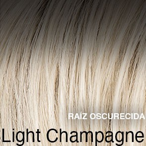 light champagne rooted