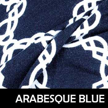 Arabesque Blue