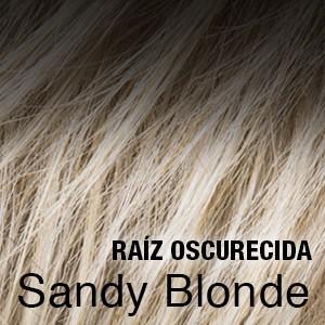 Sandyblonde raiz oscura
